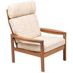 Teak Lounge Chair by Arne Wahl Iversen
