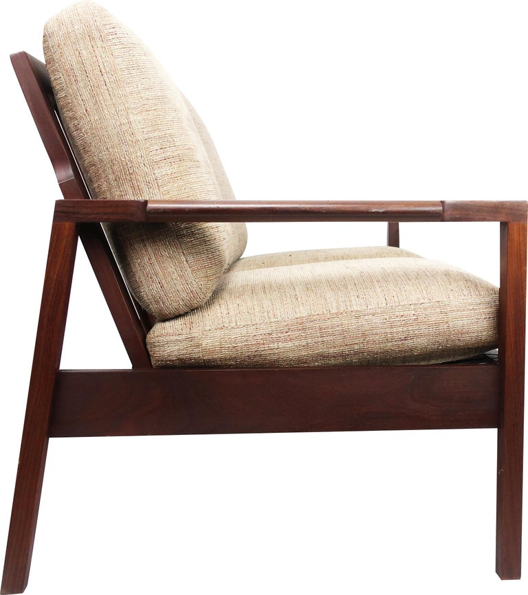20th Century Teak Loveseat by RS Associates of Montreal For Sale