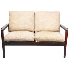 Teak Loveseat by RS Associates of Montreal