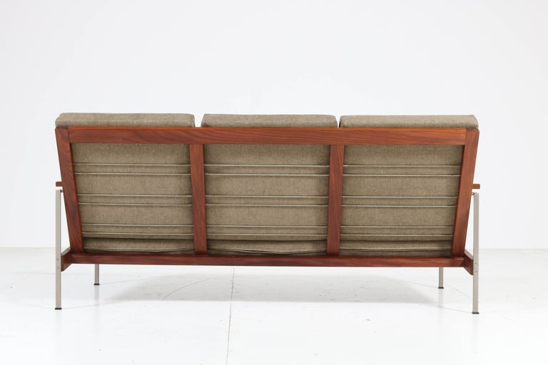 Teak Mid-Century Modern Bench or Sofa Attributed to Topform, 1960s For Sale 4