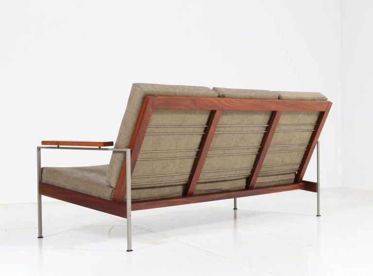 Teak Mid-Century Modern Bench or Sofa Attributed to Topform, 1960s For Sale 5
