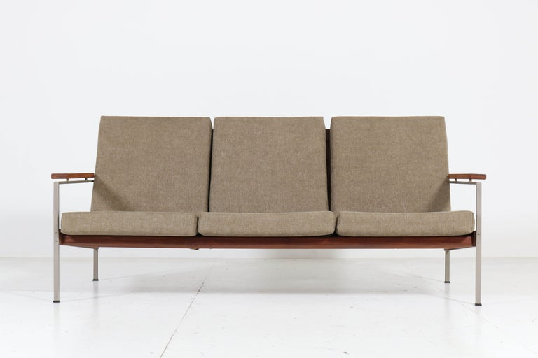 Teak Mid-Century Modern Bench or Sofa Attributed to Topform, 1960s For Sale 1
