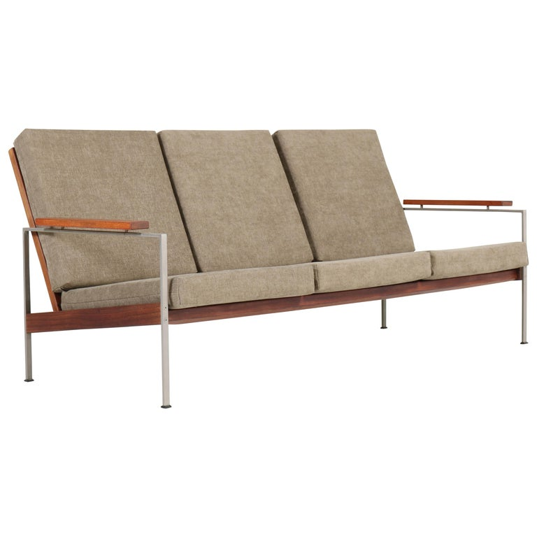 Teak Mid-Century Modern Bench or Sofa Attributed to Topform, 1960s For Sale