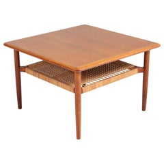Teak Mid-Century Modern Coffee Table by Gunnar Schwartz, Denmark, 1960s