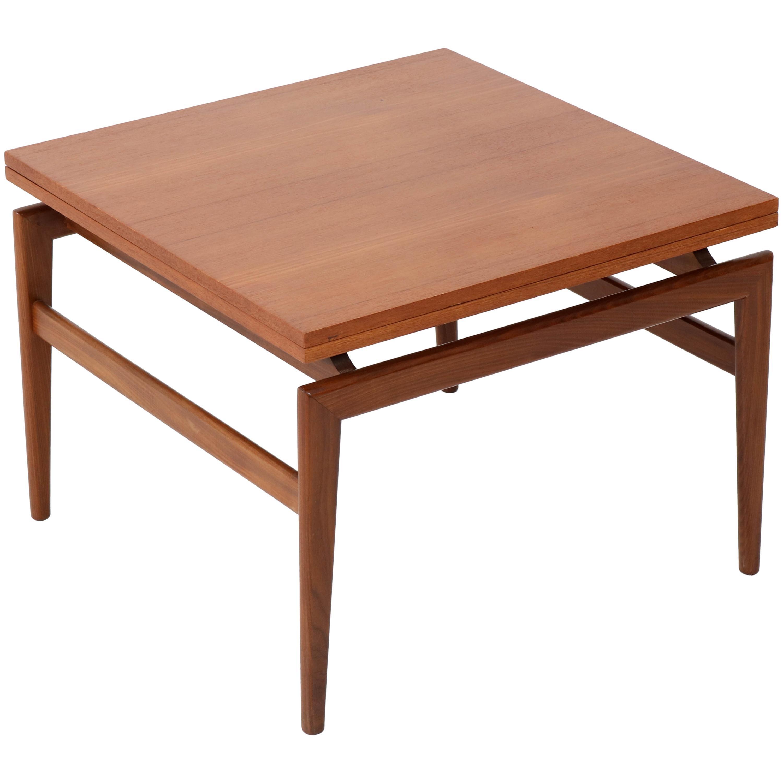 Teak Mid-Century Modern Danish Coffee Table, 1960s
