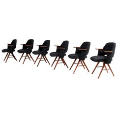 Teak Mid-Century Modern FT30 Dining Chairs by Cees Braakman for Pastoe, 1960