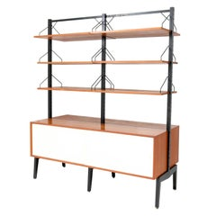 Teak Mid-Century Modern Royal Wall Unit Room Divider by Poul Cadovius for Cado