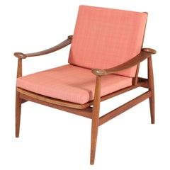 Teak Mid-Century Modern Spade Lounge Chair by Finn Juhl, Denmark, 1960s