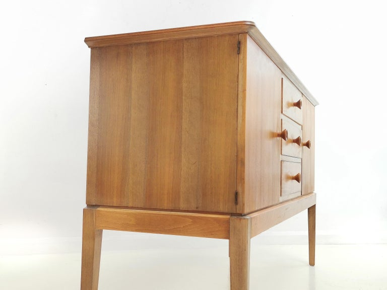 20th Century Teak Midcentury Sideboard Chest of Drawers, Vintage, 1960s