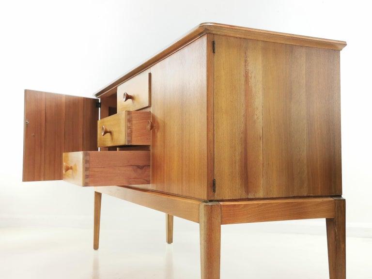 Teak Midcentury Sideboard Chest of Drawers, Vintage, 1960s 1