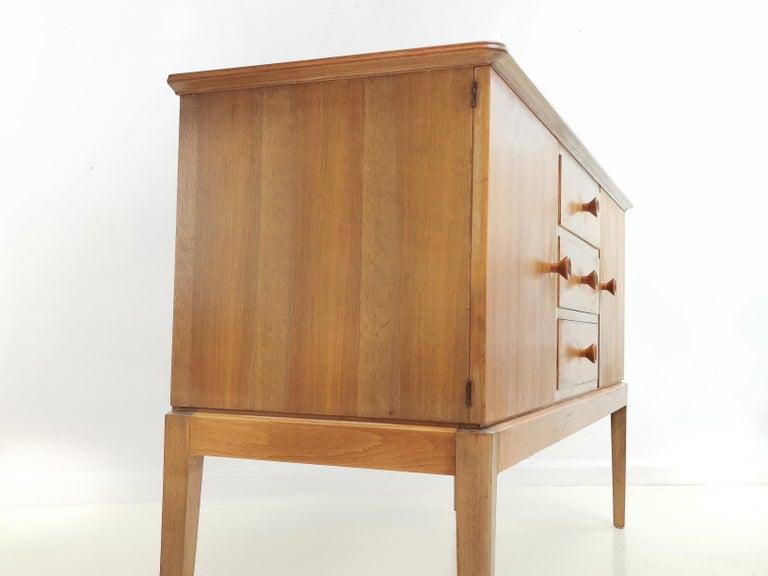 Teak Midcentury Sideboard Chest of Drawers, Vintage, 1960s 2