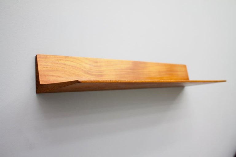 Mid-20th Century Teak Mirror and Console by Aksel Kjersgaard and Th. Poss' Eftf Copenhagen 1960s For Sale