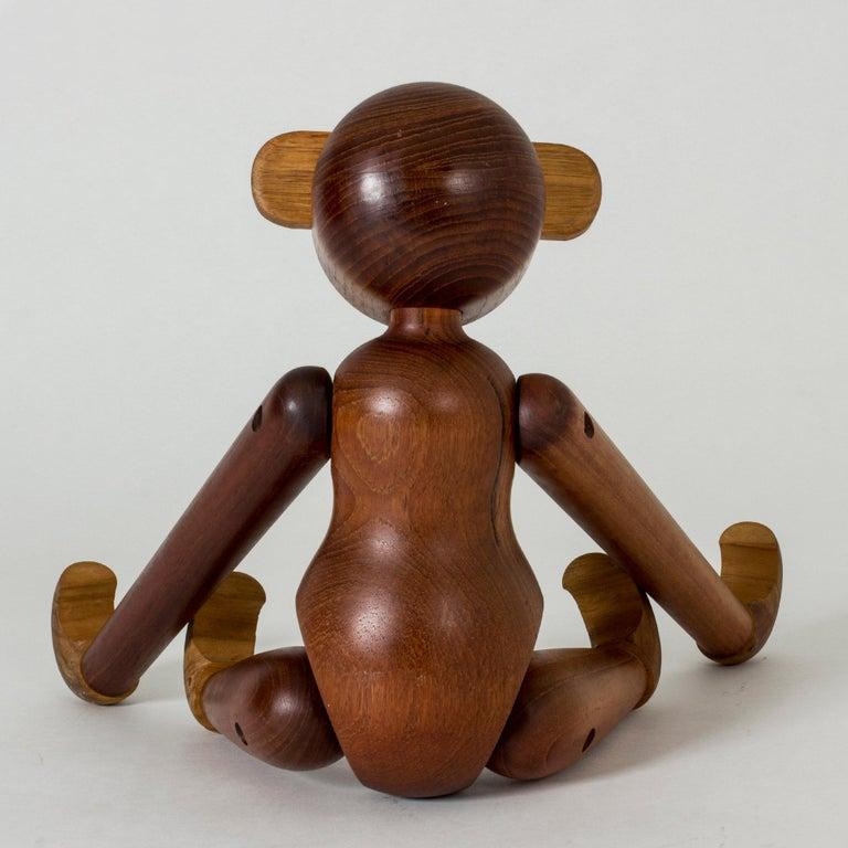 Scandinavian Modern Teak Monkey by Kay Bojesen