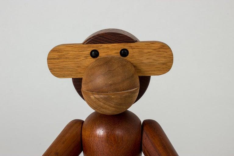 Teak Monkey by Kay Bojesen In Good Condition In Stockholm, SE