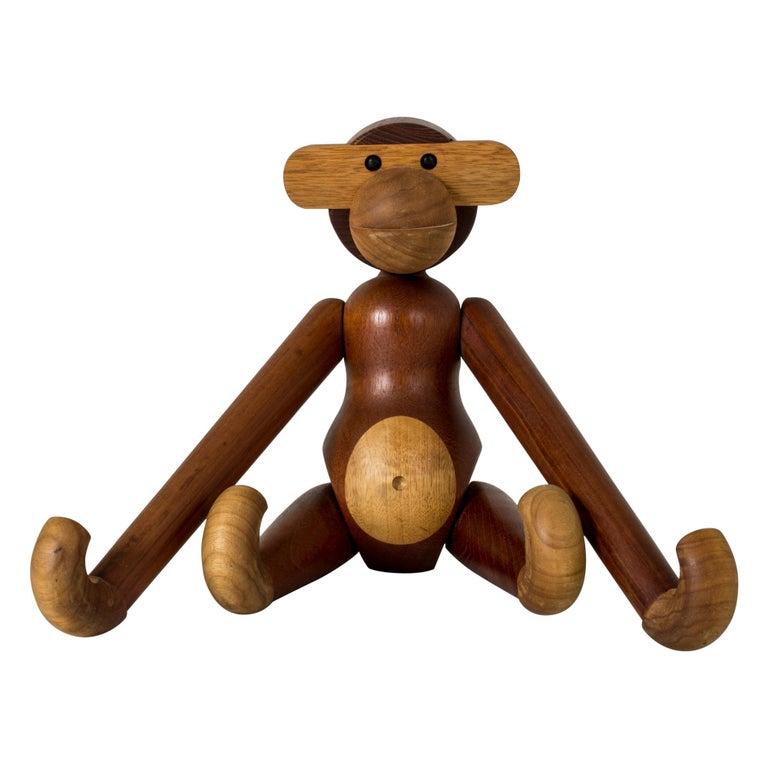 Teak Monkey by Kay Bojesen