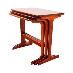 Teak Nesting Tables by Erling Torvits