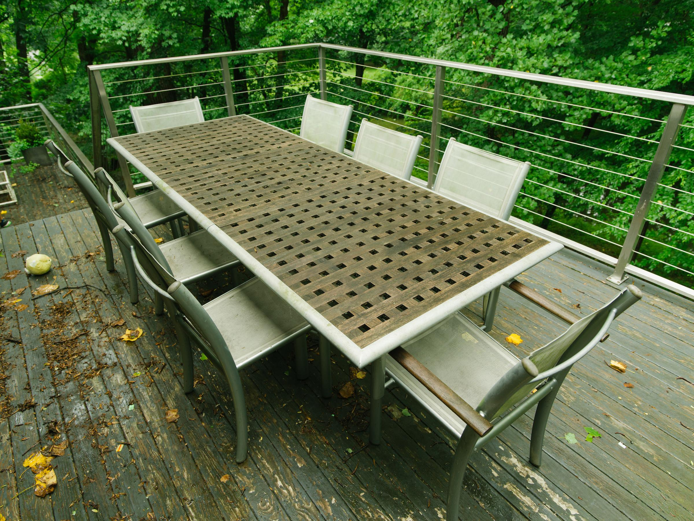 Teak Outdoor Table Set