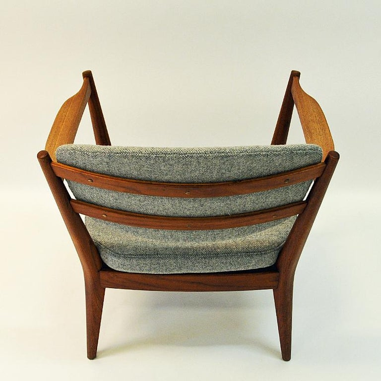 Mid-20th Century Teak Pair of the Kamin Chair by Kayser & Relling, Norway, 1950s For Sale