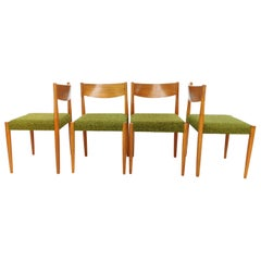 Teak Poul M Volther Danish Dining Chairs by Frem Rojle