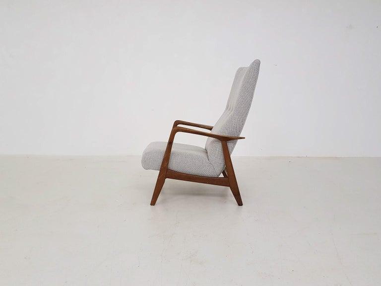 Pleasant Teak Recliner Lounge Chair Attributed Alf Svensson For Dux Danish Modern 1960 Short Links Chair Design For Home Short Linksinfo