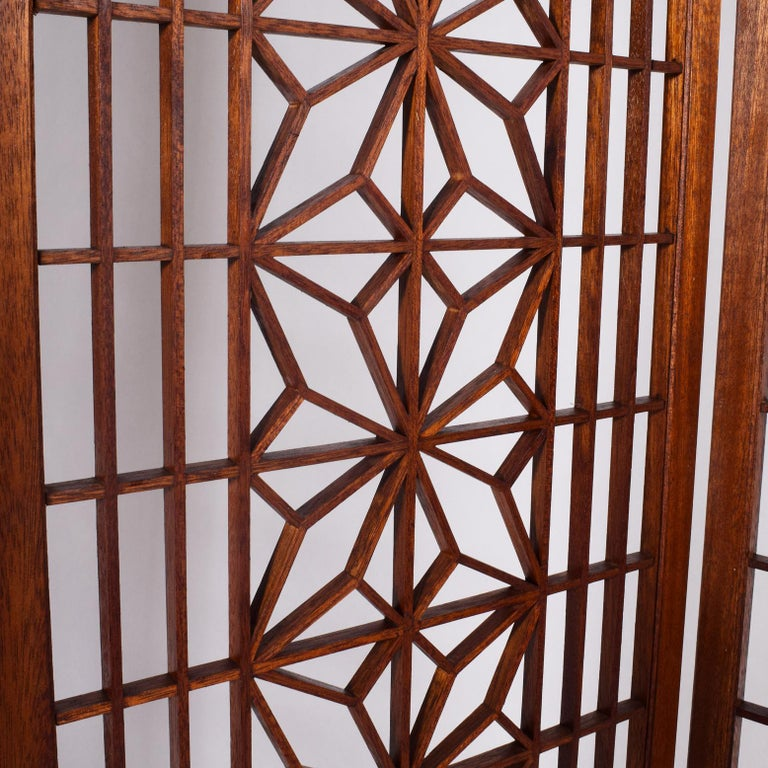 Late 20th Century Teak Screen or Room Divider For Sale