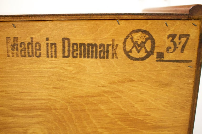 Teak Secretaire by Arne Wahl Iversen for Vinde Møbelfabrik, 1960s 4