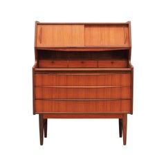 Teak Secretary Vintage, 1960-1970