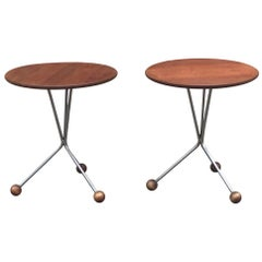 Teak side table by Albert Larsson for Alberts Tibro, 1960s