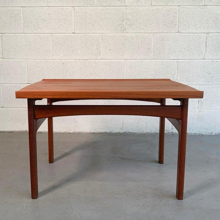 Swedish Teak Side Table by Tove & Edvard Kindt-Larsen for DUX For Sale