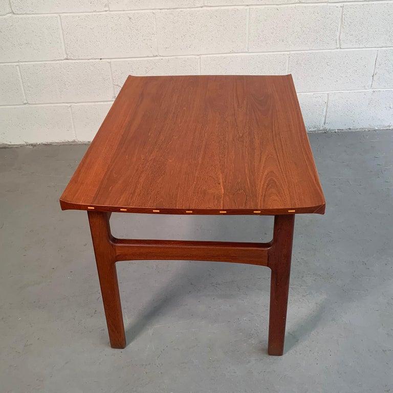 20th Century Teak Side Table by Tove & Edvard Kindt-Larsen for DUX For Sale