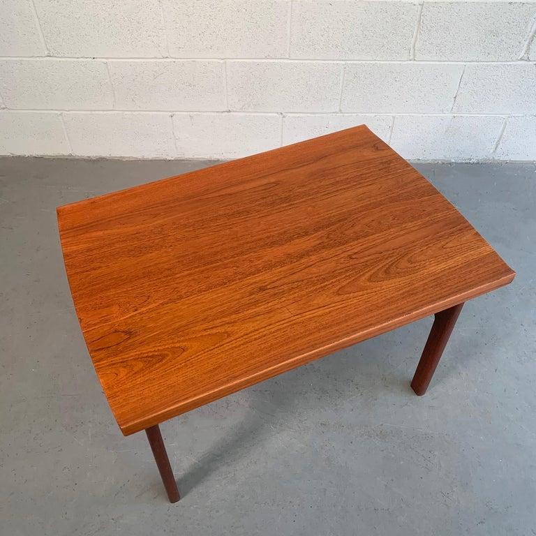 Teak Side Table by Tove & Edvard Kindt-Larsen for DUX For Sale 1