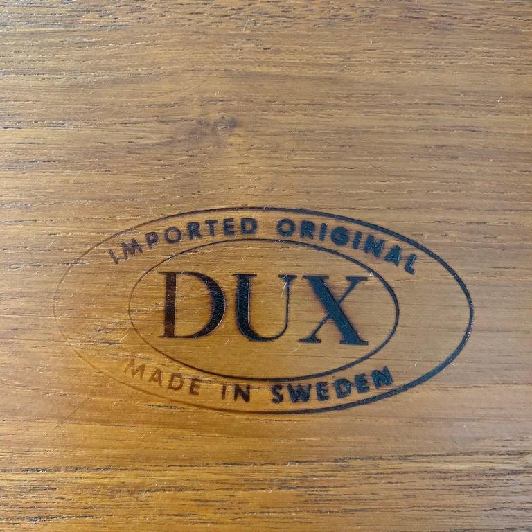 Teak Side Table by Tove & Edvard Kindt-Larsen for DUX For Sale 2