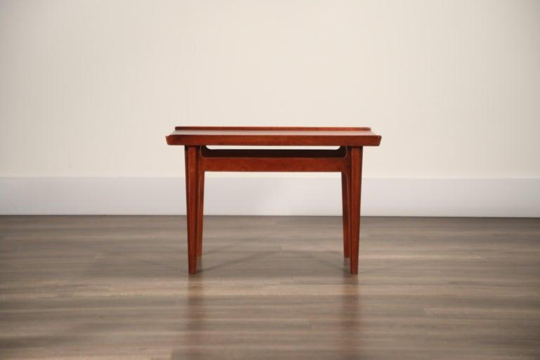 Teak Side Tables by Finn Juhl for France & Son, Denmark 1960s, Three Available For Sale 6