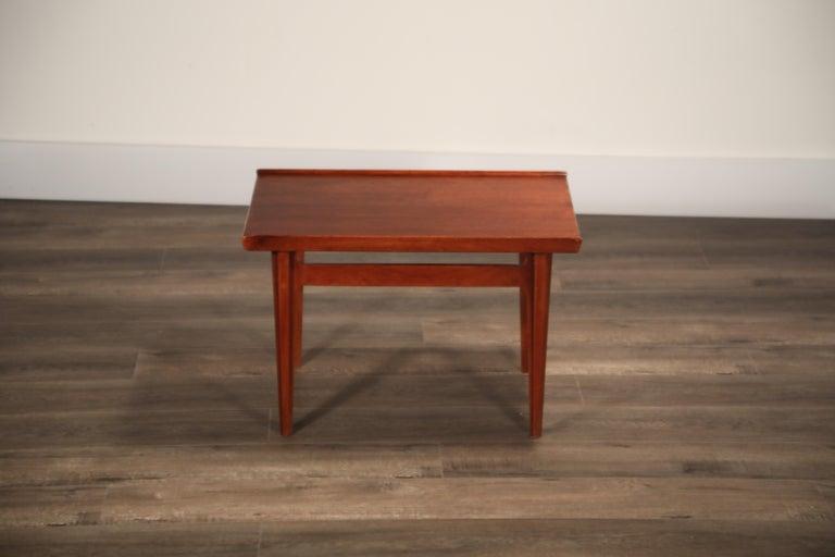 Teak Side Tables by Finn Juhl for France & Son, Denmark 1960s, Three Available For Sale 7