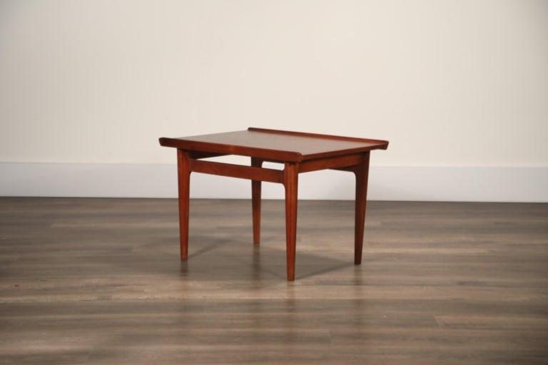 Teak Side Tables by Finn Juhl for France & Son, Denmark 1960s, Three Available For Sale 8