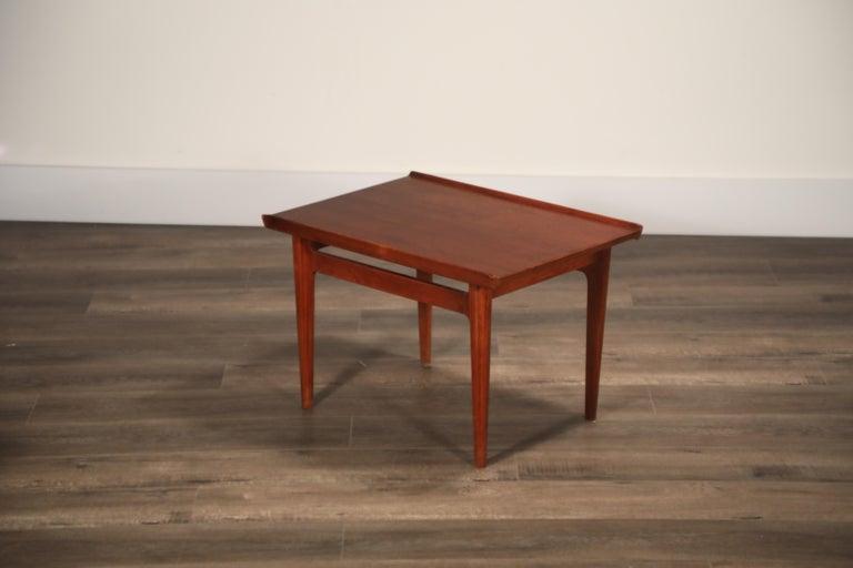 Teak Side Tables by Finn Juhl for France & Son, Denmark 1960s, Three Available For Sale 9