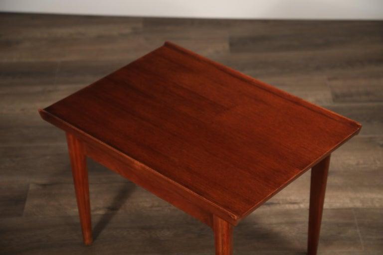 Teak Side Tables by Finn Juhl for France & Son, Denmark 1960s, Three Available For Sale 10