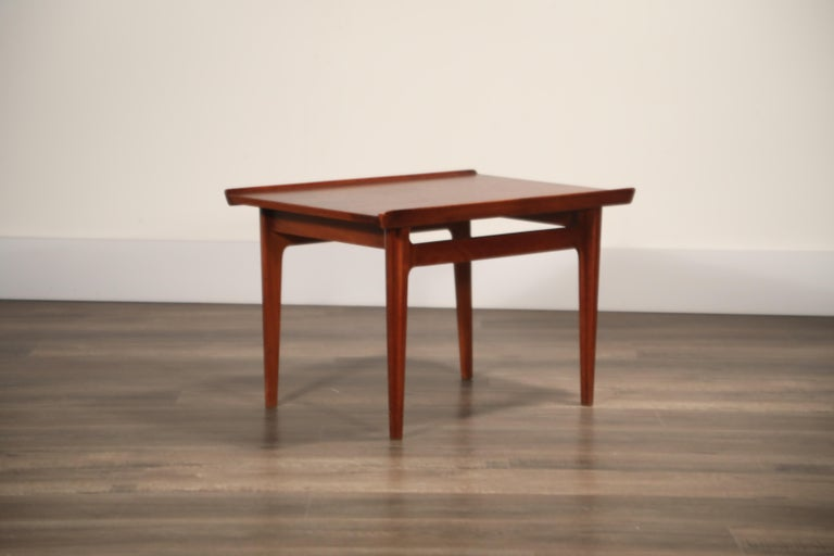 Teak Side Tables by Finn Juhl for France & Son, Denmark 1960s, Three Available For Sale 11