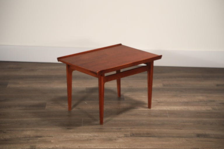 Teak Side Tables by Finn Juhl for France & Son, Denmark 1960s, Three Available For Sale 12