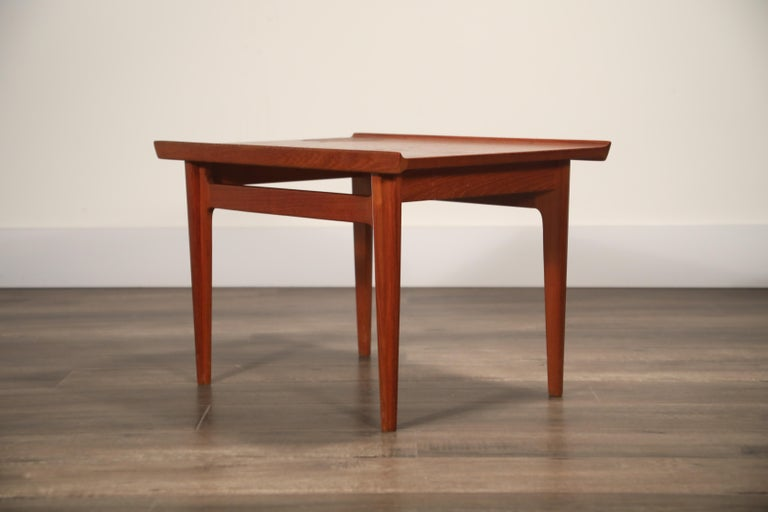 Teak Side Tables by Finn Juhl for France & Son, Denmark 1960s, Three Available For Sale 13
