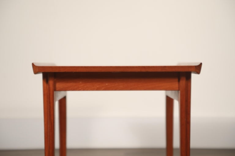 Teak Side Tables by Finn Juhl for France & Son, Denmark 1960s, Three Available For Sale 14