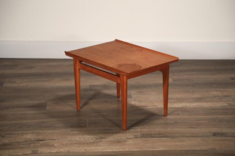 Teak Side Tables by Finn Juhl for France & Son, Denmark 1960s, Three Available For Sale 15