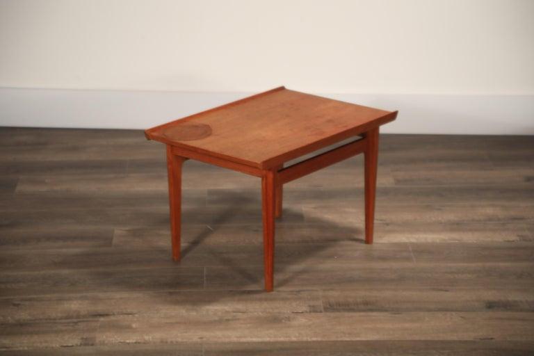 Teak Side Tables by Finn Juhl for France & Son, Denmark 1960s, Three Available For Sale 16