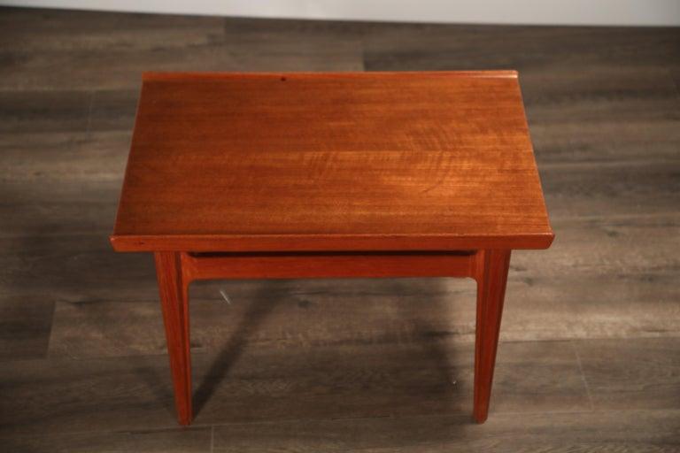 Danish Teak Side Tables by Finn Juhl for France & Son, Denmark 1960s, Three Available For Sale