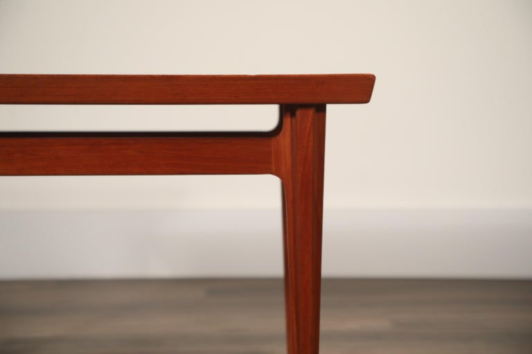 Teak Side Tables by Finn Juhl for France & Son, Denmark 1960s, Three Available In Good Condition For Sale In Los Angeles, CA