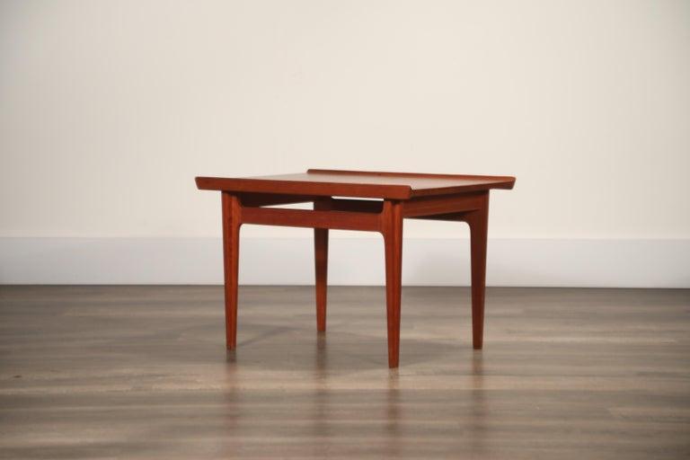 Teak Side Tables by Finn Juhl for France & Son, Denmark 1960s, Three Available For Sale 1