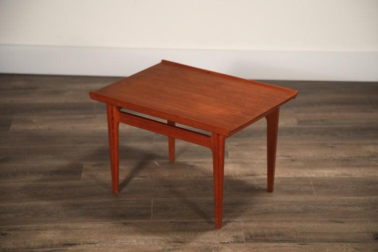 Teak Side Tables by Finn Juhl for France & Son, Denmark 1960s, Three Available For Sale 2