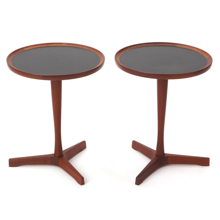 Mid-20th Century Scandinavian Modern Teak Side Table by Hans C. Andersen For Sale