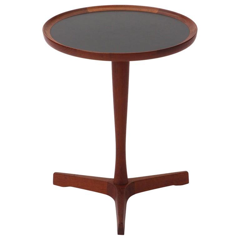 Scandinavian Modern Teak Side Table by Hans C. Andersen For Sale