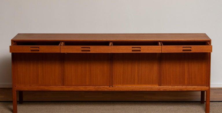 Mid-20th Century Teak Sideboard by Bertil Fridhagen for Bodafors, 1950s
